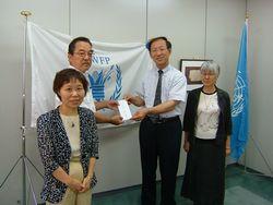 WFP・中国大使館より感謝状をいただきました